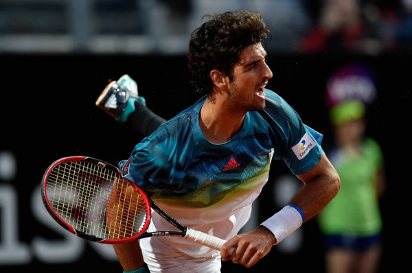 Thomaz Bellucci in Rome action. Photo: Dennis Grombkowski/Getty Images