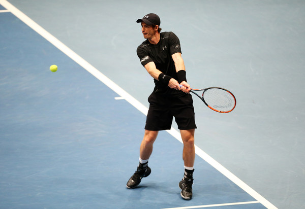 Murray at the Tie Break Tens Vienna event (Photo by Jordan Mansfield/Getty Images)