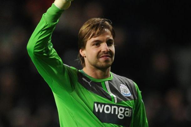 Tim Krul has been linked with a move away from St James Park (Photo: thejournal.co.uk)