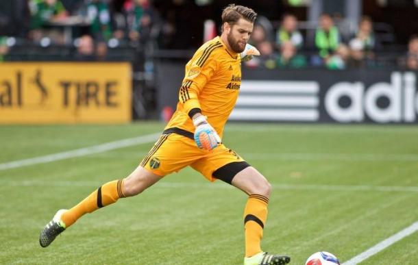 Jake Gleeson stood on his head to keep Philadelphia from equalizing Image Courtesy of the Portland Timbers