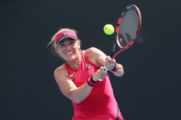 Timea Babos would be disappointed with herself as she did not take advantages of her chances | Photo: Pat Scala/Getty Images AsiaPac