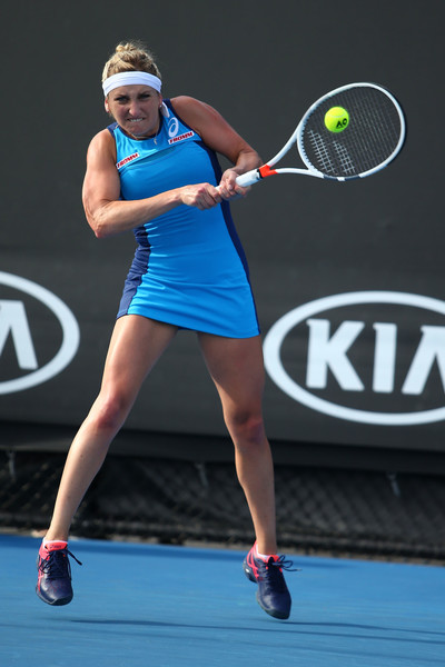 Bacsinszky moves on after a tough match | Photo: Jack Thomas/Getty Images AsiaPac