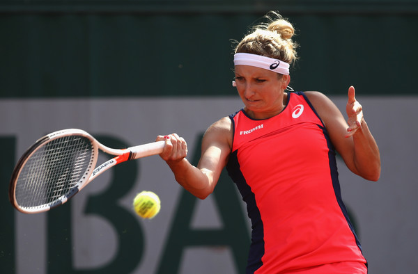 Timea Bacsinszky in action | Photo: Julian Finney/Getty Images Europe