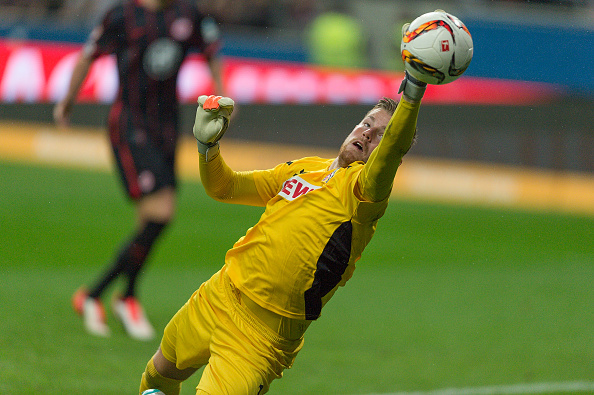 Horn called into action against Eintracht Frankfurt | Photo: Bongarts