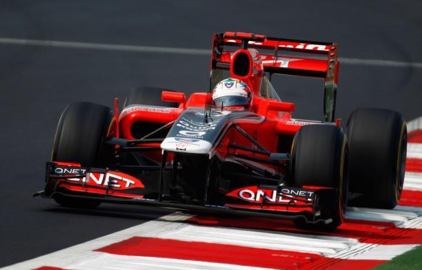 Timo Glock durante el GP de India del 2011 | Fuente: Getty Images