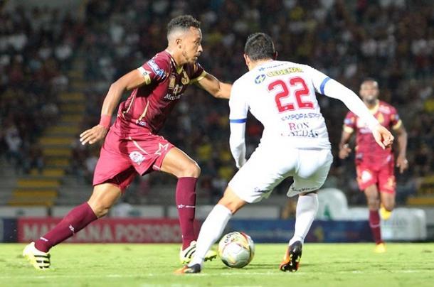 Deportes Tolima vs Deportivo Pasto. Foto: Deportes Tolima.