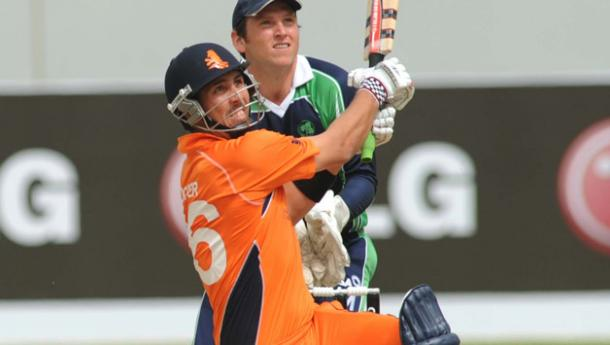 Tom Cooper in action during his match winning innings against Ireland in the 2014 World T20 tournament | Photo: icc.com