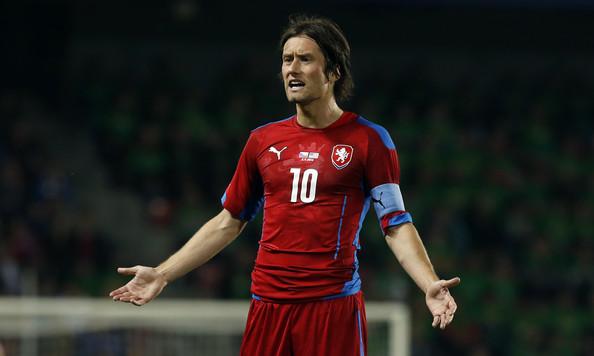 Tomáš Rosický, numero 10 e capitano della Repubblica Ceca. Fonte: Getty Images Europe.