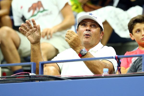 Toni Nadal at the 2015 US Open. | Photo: Clive Brunskill/Getty Images