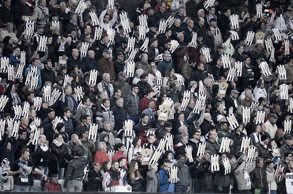 Torcida da Udinese homenageia Di Natale em seu último jogo (Foto: Dino Panato/Getty Images)