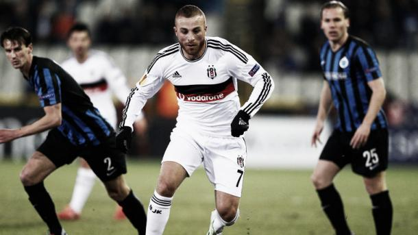 Above: Reported West Ham United target Gokhan Tore in action for Besiktas | Photo: Sky Sports