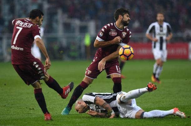 Un momento del derby con la Juventus, toronews.net