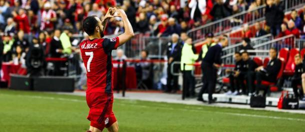 Víctor Vázquez has been a key figure in Toronto's success | Source: Luke Galati-Toronto FC