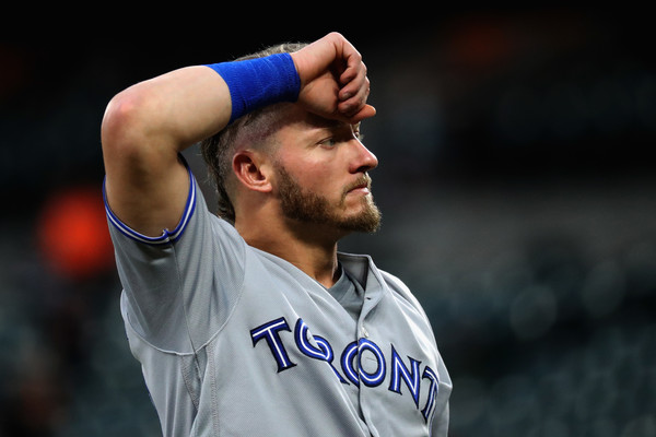 Josh Donaldson scored one of the five runs in that crucial fifth inning off a clutch RBI double from Montero. | Photo: Rob Carr/Getty Images