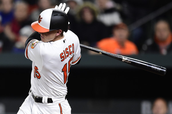 Chance Sisco batted in the only run for Baltimore on Tuesday. | Photo: Patrick McDermott/Getty Images