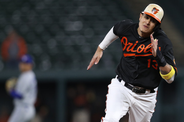 Manny Machado scored the winning run on an RBI double from Jonathan Schoop to clinch the big win for the Orioles. | Photo: Patrick Smith/Getty Images