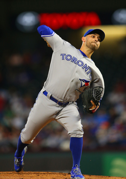 Marco Estrada looked very impressive in his second outing of the regular season and was credited with the win on Friday night. | Photo: Rick Yeatts/Getty Images
