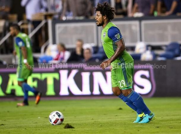 Roman Torres will not be available for this game after picking up an injury last weekend | Source: Jim Malone - VAVEL USA