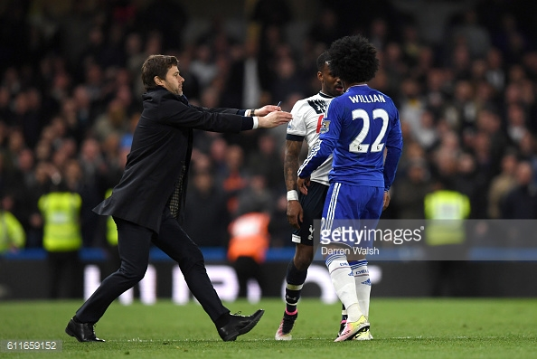 Tottenham were involved in a fiery contest at the end of last season which saw Chelsea win to give Leicester the title / Getty Images/ Darren Walsh