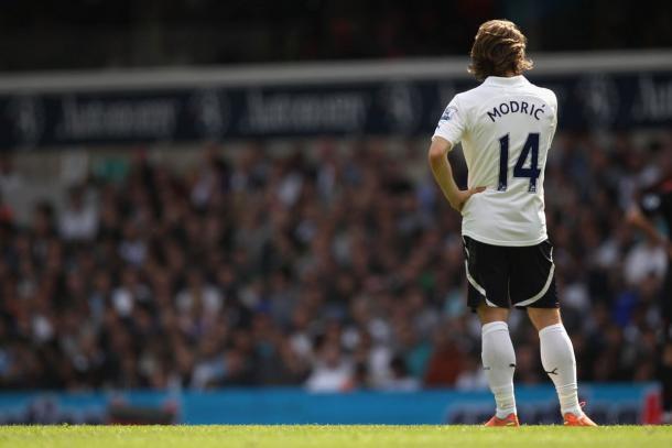 Luka Modric en el Tottenham