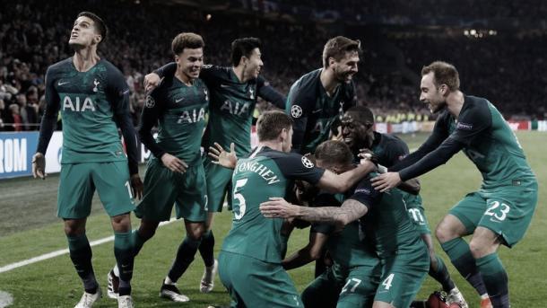 El gol que clasificó a la final de la Champions League 2019. Foto: Champions League.