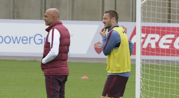 Spalletti e Totti, ilmessaggero.it