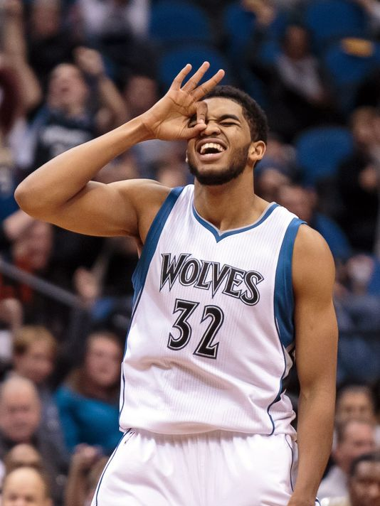 Karl-Anthony Towns is one of the most skilled big men in the league and was unanimously voted Rookie of the Year | Brad Rempel - USA Today