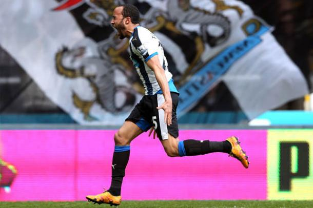 Townsend's free kick against Palace gave The Geordies hope of staying up (Photo: thedailystar.co.uk)