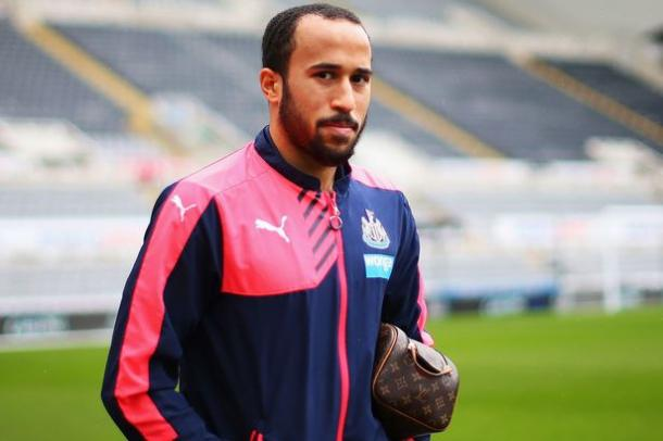 Andros Townsend will not be joining the team (Source: Chronicle Live)