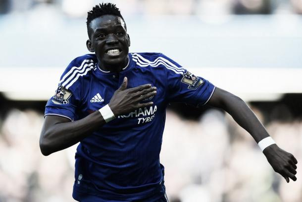 Above: Bertrand Traore celebrates during Chelsea's 1-1 draw with Stoke City image source: Daily Mirror