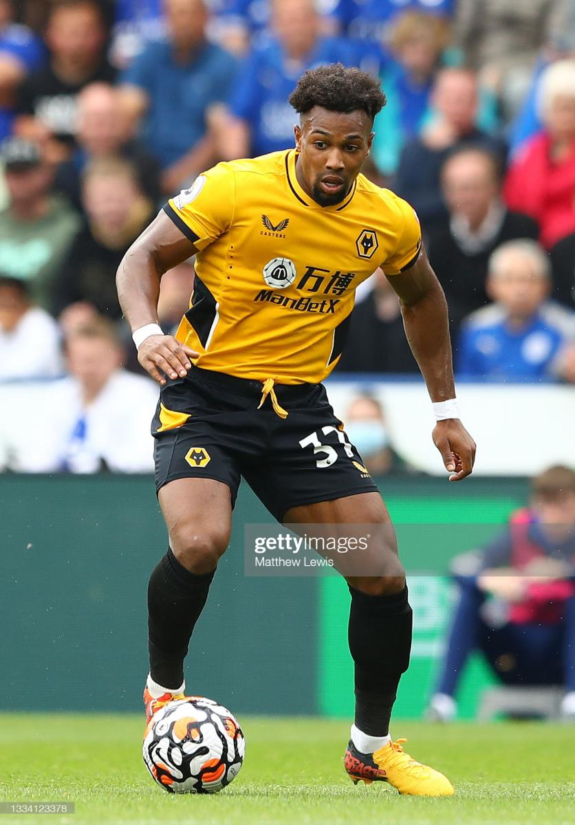Adama Traore impressed for Wolves