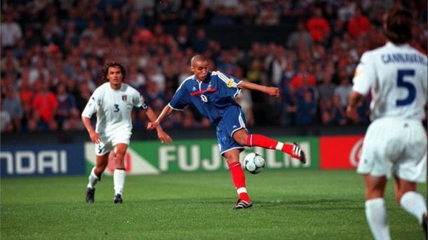 David Trezeguet, autor del gol que daría a Francia su segunda Eurocopa (Foto: gazzettaworld.it)