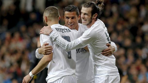 Trio BBC cresceu de produção após chegada de Zidane (Foto: Getty Images)
