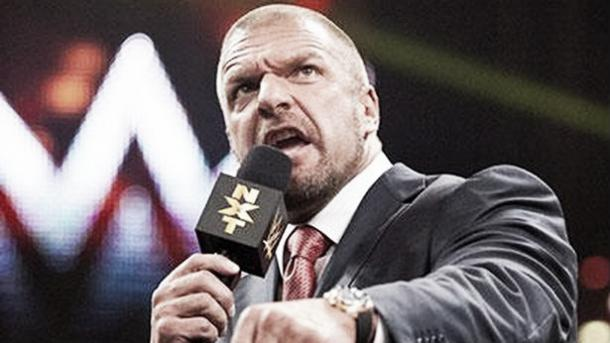 Triple H's main focus is NXT. Photo- TheMirror.co.uk
