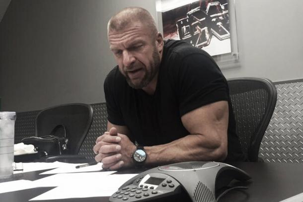 HHH spoke in the conference. Photo: Twitter.com