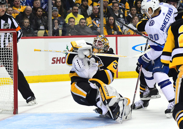 Jarry is now the Penguins starter with Murray on the shelf/Photo: Getty Images