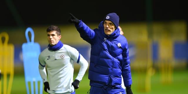 Thomas Tuchel dirigiendo un entrenamineto con el Chelsea. FUENTE: Chelsea FC