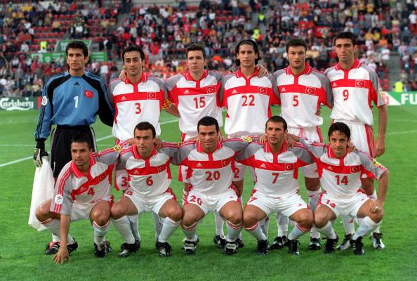 Turkey's team at Euro 2000 | Photo: Getty