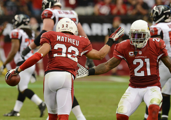 Tyrann Mathieu and Patrick Peterson |Oct. 26, 2013 - Source: Norm Hall/Getty Images North America|