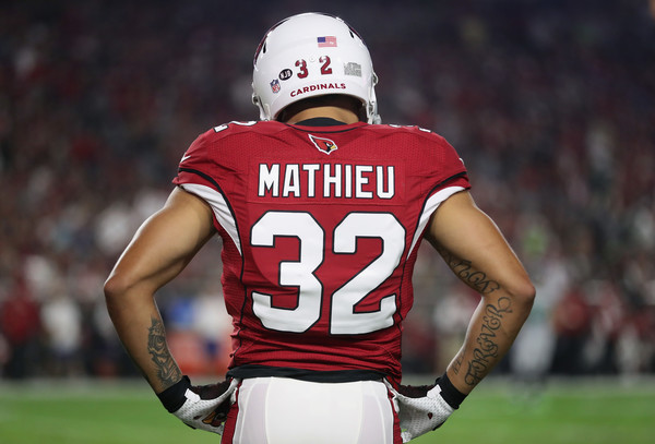 Tyrann Mathieu |Oct. 22, 2016 - Source: Christian Petersen/Getty Images North America|