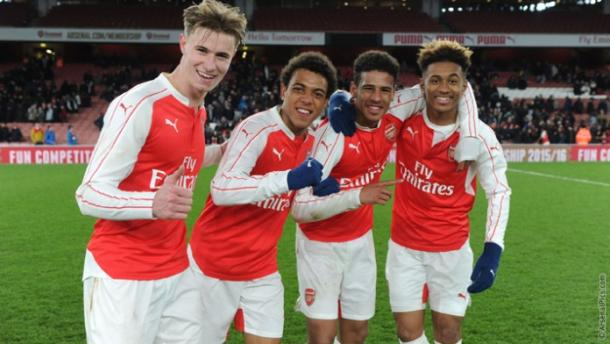 An exciting group of players. | Source: Arsenal Football Club