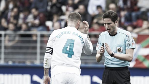 Munuera Montero sabe lo que es dirigir al Real Madrid.