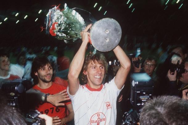 Will die Werkself replicate their 1987-88 UEFA Cup success? | ImageCredit: Tumblr