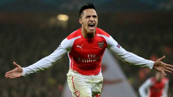 In top form - Alexis Sanchez's debut campaign for Arsenal. | Source: UEFA