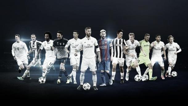 Doce jugadores son los nominados por el Real Madrid | Foto: UEFA