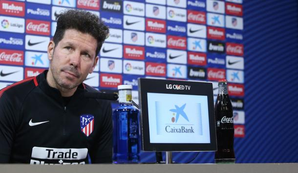 Simeone en rueda de prensa | Atlético de Madrid