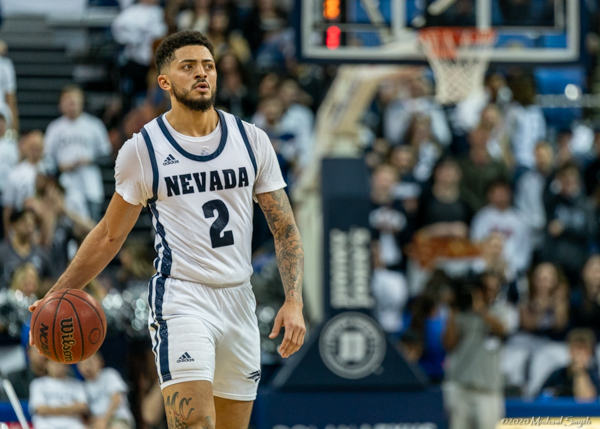 Harris is one half of a backcourt that can lead Nevada to a possible NCAA berth/Photo: Michael Smyth/Tahoe Onstage