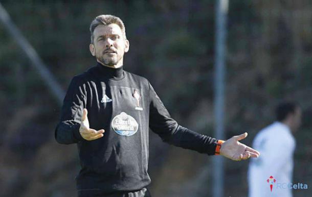 Juan Carlos Unzué, entrenador del RC Celta de Vigo | Foto: RC Celta