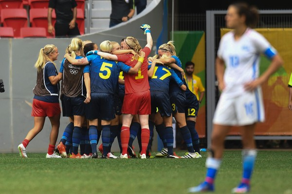 Sweden knocked the USWNT out of the Olympics the last time the two teams met | Source: Evaristo Sa-AFP