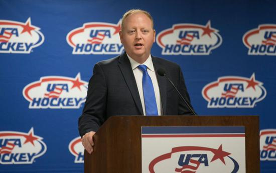 Kelleher is the architect of the three teams that will be competing in PyeongChang/Photo: Rena Laverty/USA Hockey